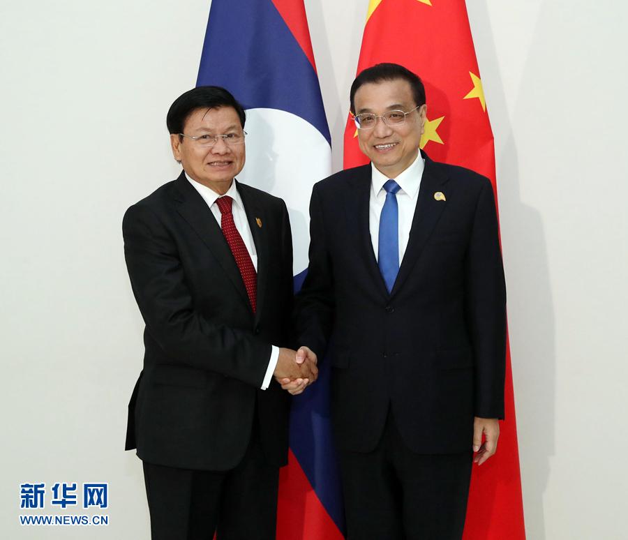 李克强会见老挝总理通伦.jpg