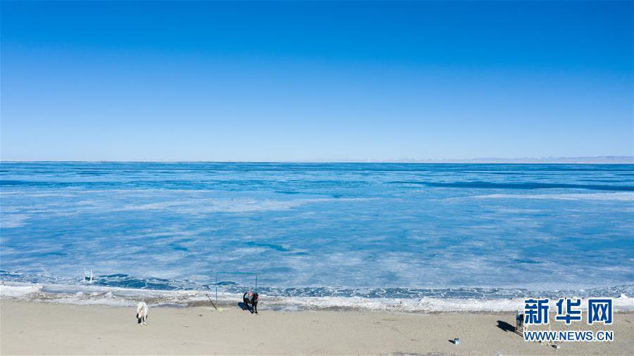 (环境)(4)青海湖进入封冻期
