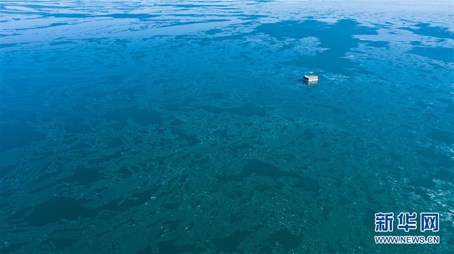 (环境)(12)青海湖进入封冻期