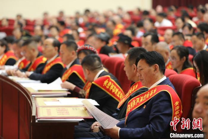 青海表彰民族团结进步先进集体及个人